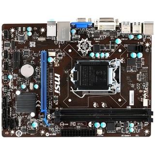 MSI H81M-P33 Desktop Motherboard - Intel H81 Chipset - Socket H3 LGA-