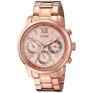Guess Women's U0330L2 Rose Goldtone Stainless Steel Quartz Watch