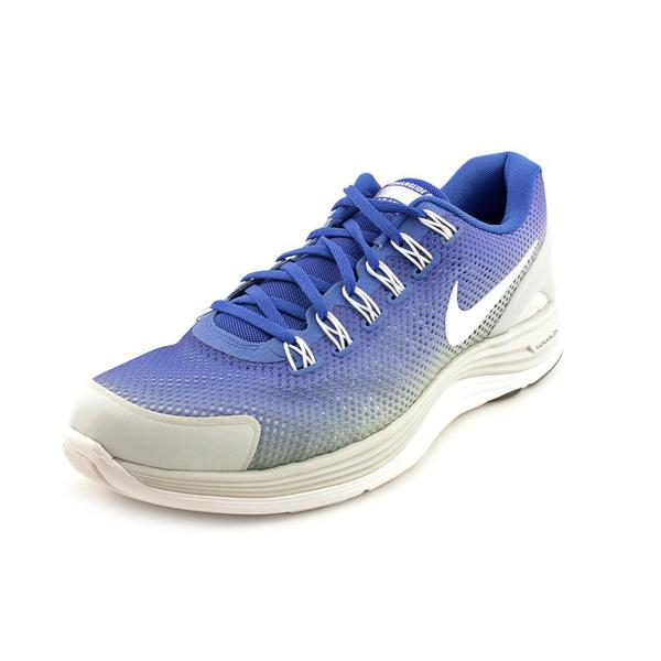 Nike Women's 'Lunarglide+ 4 Breathe' Mesh Athletic Shoe