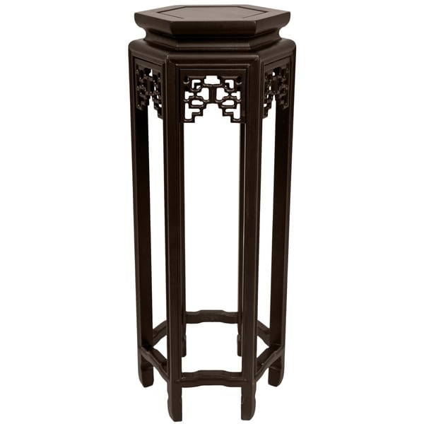 Oriental 28-inch Plant Stand (China)