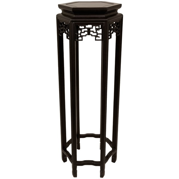 Hexagonal 36-inch Oriental Plant Stand (China) 1052590