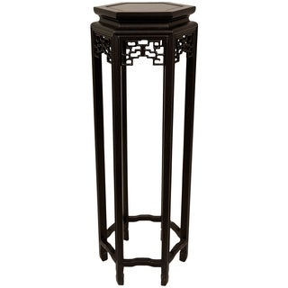 Hexagonal 36-inch Oriental Plant Stand (China)