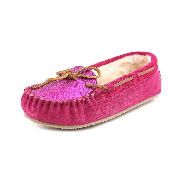 Minnetonka Women's 'Glitter Kayla Slipper' Man-Made Casual Shoes