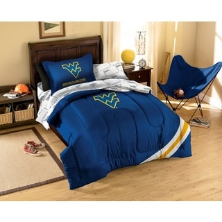 West Virginia University Mountaineers 7-piece Bed in a Bag with Sheet Set
