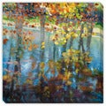 Maxine Price's 'Dancing on the Water' Canvas Gallery Wrap Art