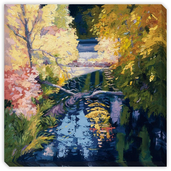 Maxine Price's 'Late September Light' Canvas Gallery Wrap Art