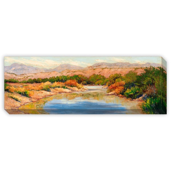 Maxine Price's 'Spring at Big Bend' Canvas Gallery Wrap Art