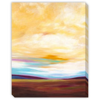 Marie Meyer's 'Valley' Canvas Gallery Wrap Art