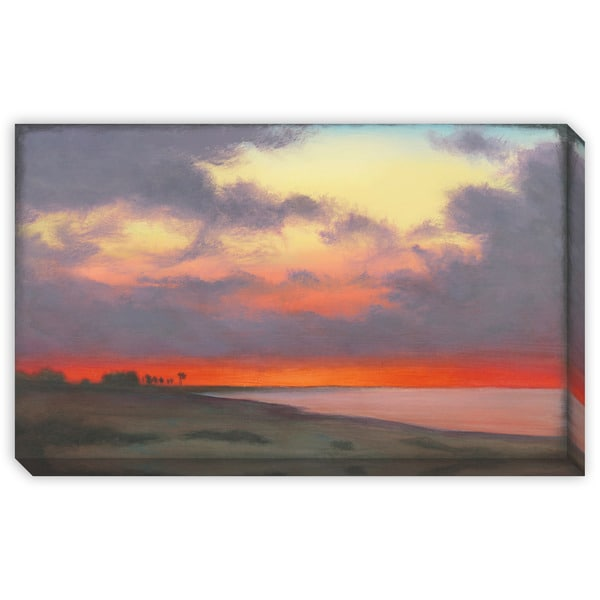 St John's 'Fire Sky' Canvas Gallery Wrap Art