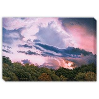 Gallery Direct Jon Eric Narum's 'Rose Sunset' Canvas Gallery Wrap Art