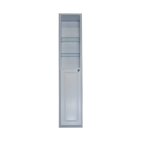 60 inch recessed white plantation pantry storage cabinet for 30 inch deep kitchen cabinets
