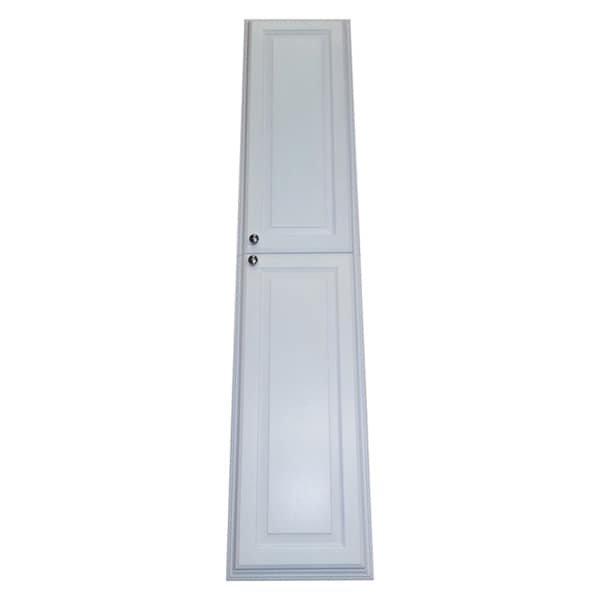 72 Inch Recessed White Plantation Pantry Storage Cabinet 16473723 Shopping