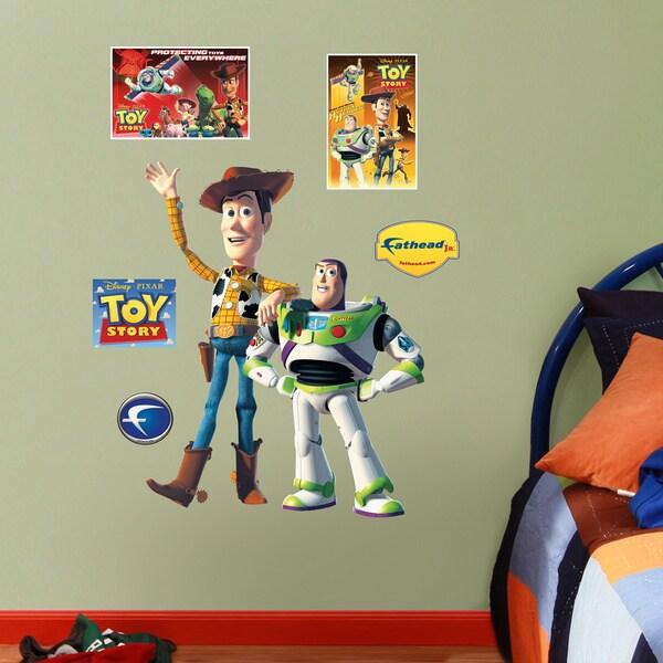 Fathead Jr. Woody & Buzz Lightyear Wall Decals