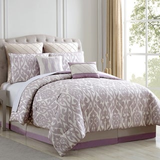 Modern Threads Alina Floral Damask 8-piece Comforter Set