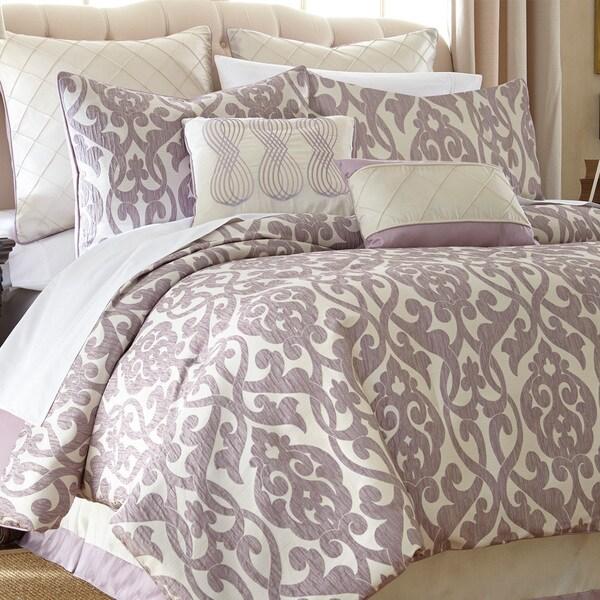 Azlin Floral Damask 8-piece Comforter Set