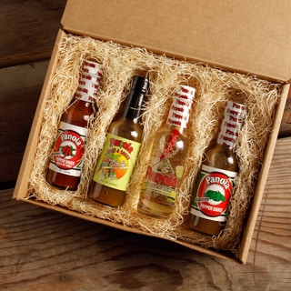 Panola Gourmet Hot Sauce Box (Pack of 4)