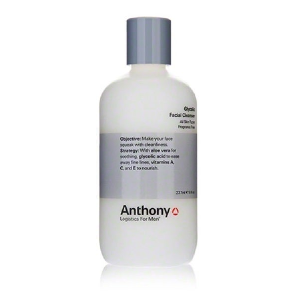 Anthony Logistics For Men Glycolic 8-ounce Facial Cleanser