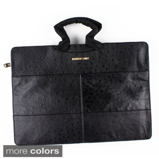 Leather Standard Briefcase with Shoulder Strap
