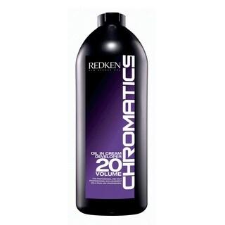 Redken Chromatics Oil In Cream Developer 20 Volume 6-percent 32-ounce Cream