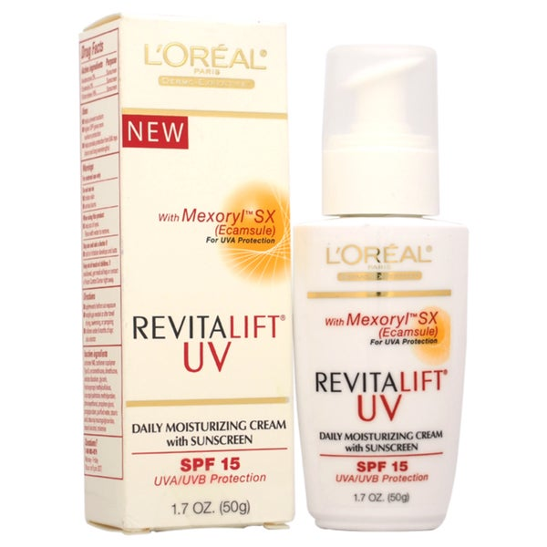 L'oreal Paris Revitalift UV Daily 1.7-ounce Moisturizing SPF 15 UVA/UVB Cream