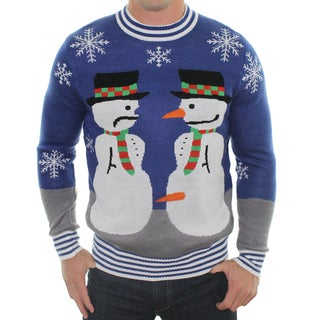 Men's 'Frosty the Nose Thief' Ugly Christmas Sweater