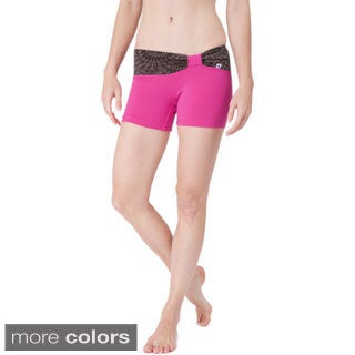 Balini Women's 'Linda' Slim Fit Yoga Gym Shorts