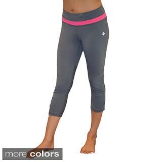 Madison Sport Women's Natalie Ruched Capri Pants