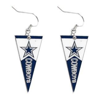 NFL Dallas Cowboys Pennant Earrings