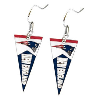 NFL New England Patriots Pennant Earrings