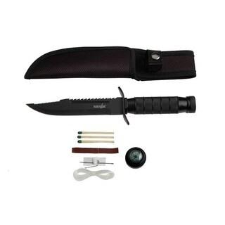 Survivor 9.5-inch Stainless Steel Survival Knife