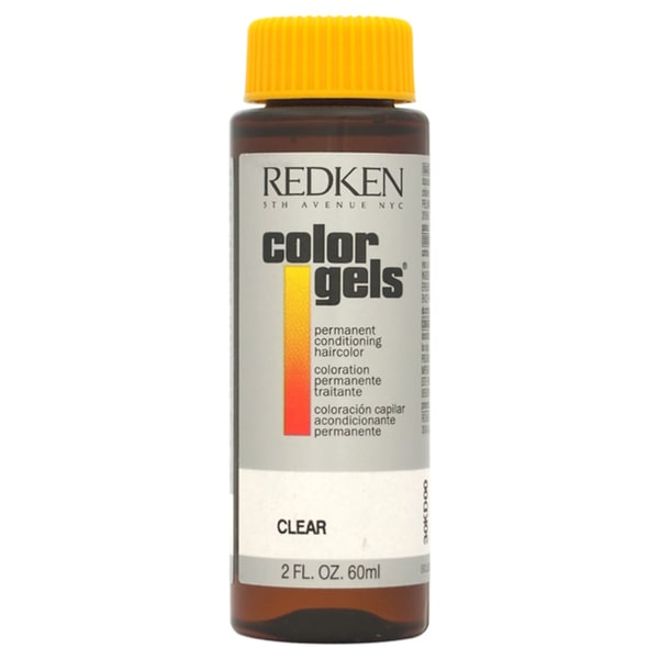 Redken Color Gels Permanent Conditioning Clear 2-ounce Hair Color