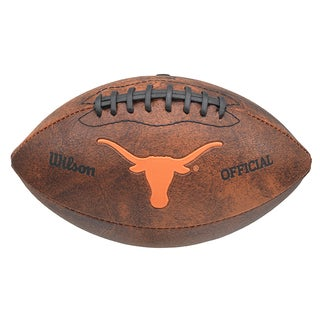 Wilson NCAA Texas Longhorns 9-inch Composite Leather Football