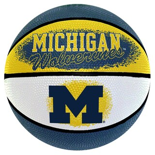 Spalding Michigan Wolverines 7-inch Mini Basketball