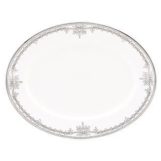Lenox Marchesa Empire Pearl 13-inch Oval Platter