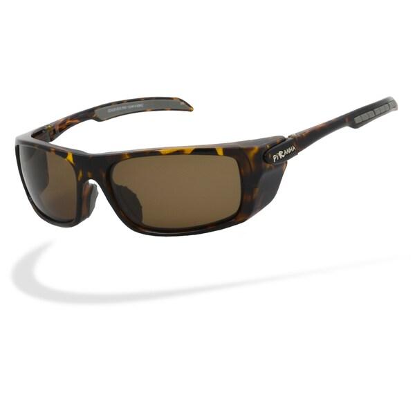 Piranha Men's 'Fishing 2' Sport Polarized Sunglasses