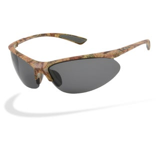 Piranha Men's 'Forest' Camo Streamlined Sunglasses