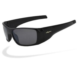 Piranha Men's 'Cappuccino' Mid-size Sport Sunglasses