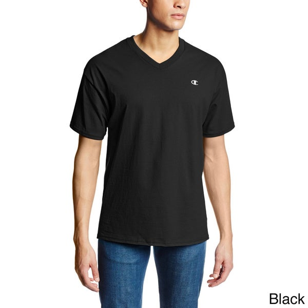 Champion Men's Authentic Jersey V-neck T-shirt 13707621