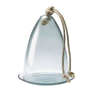 Eco Glass Cloche and Plate