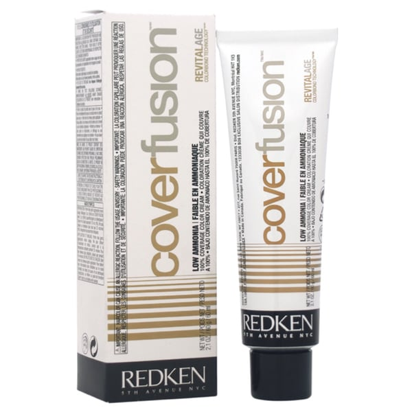 Redken Cover Fusion Low Ammonia 8NN Natural 2-ounce Hair Color
