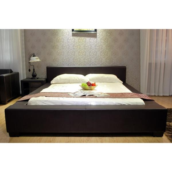 Black Platform California King Bed