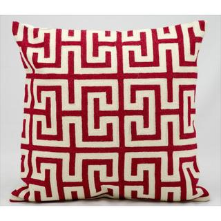 Nourison Kathy Ireland 18-inch Red Pillow