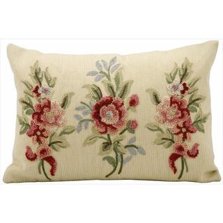 Kathy Ireland by Nourison Beige 14 x 20 Pillow