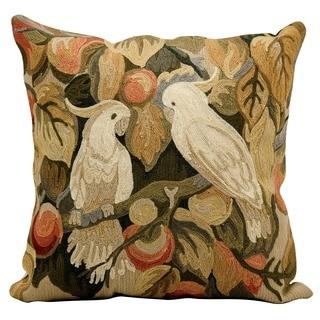 Nourison Kathy Ireland 18-inch Birds Wool Throw Pillow