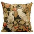 Nourison Kathy Ireland 18-inch Birds Wool Throw Pillow