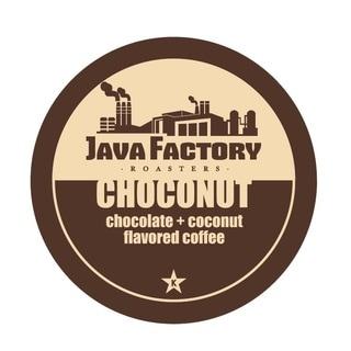Java Factory Choconut Single Serve Coffee K-cups