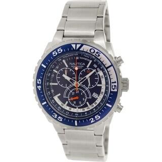 Nautica Men's Nst 700 N16655G Stainless Steel Quartz Watch