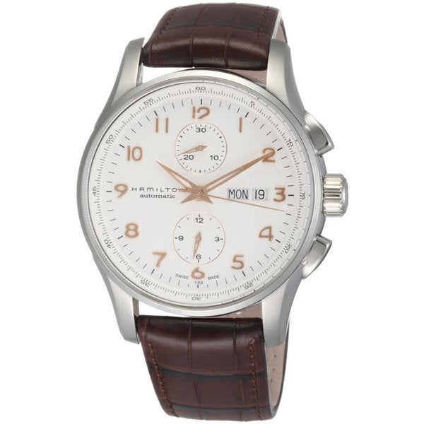 Hamilton Men's H32766513 Jazzmaster Maestro White Dial Watch