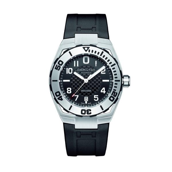 Hamilton Men's H78615335 Automatic Khaki/ Navy Watch