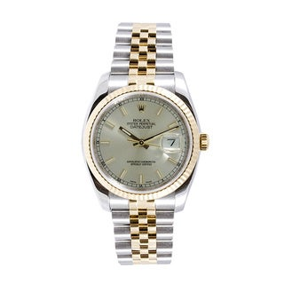 Pre-Owned Rolex Men's Stainless Steel and 18k Gold Watch